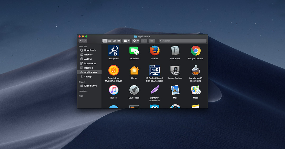 How to enable and disable Dark mode in macOS Mojave