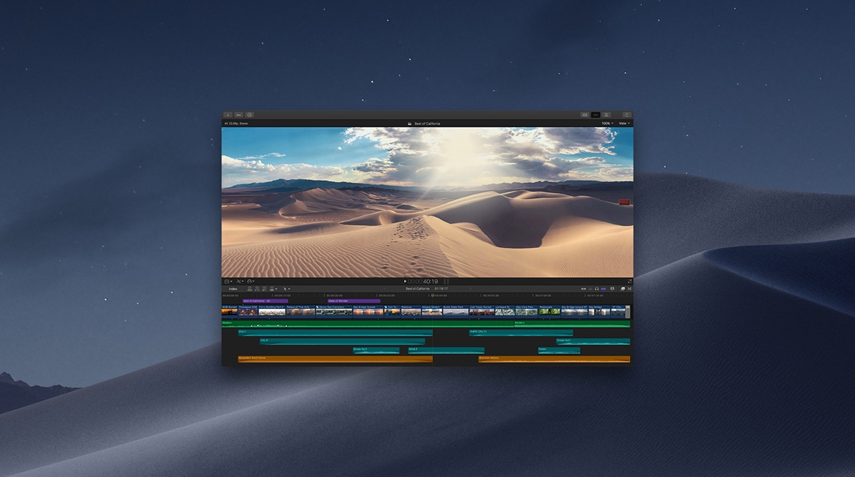 Best video editing software for Mac