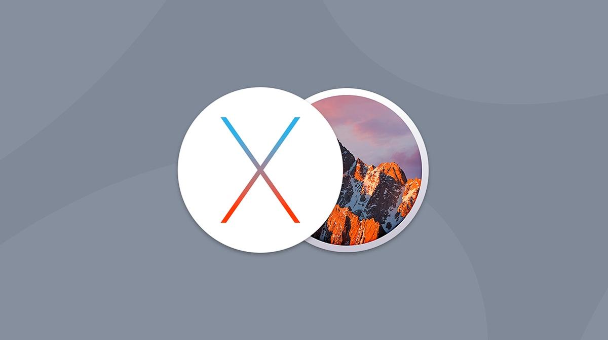 macOS Sierra vs OS X El Capitan