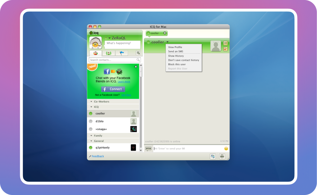 old ICQ