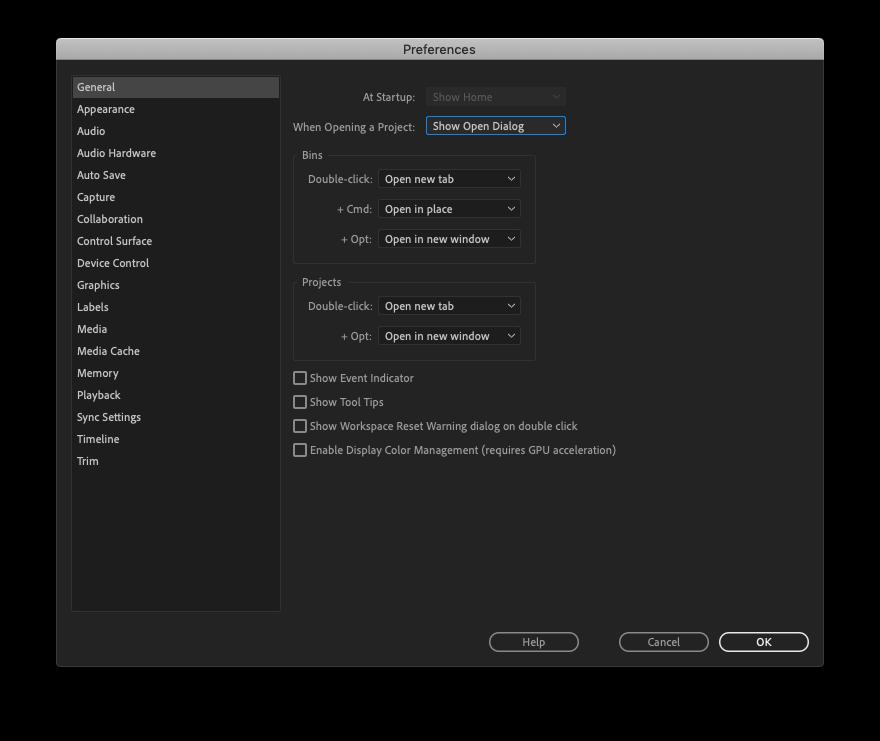 Adobe Premiere Pro (və kompüterinizi də) necə sürətləndirmək olar? 3