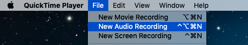 How to record audio on a Mac