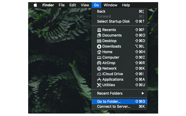 How to access the Home folder on a Mac?