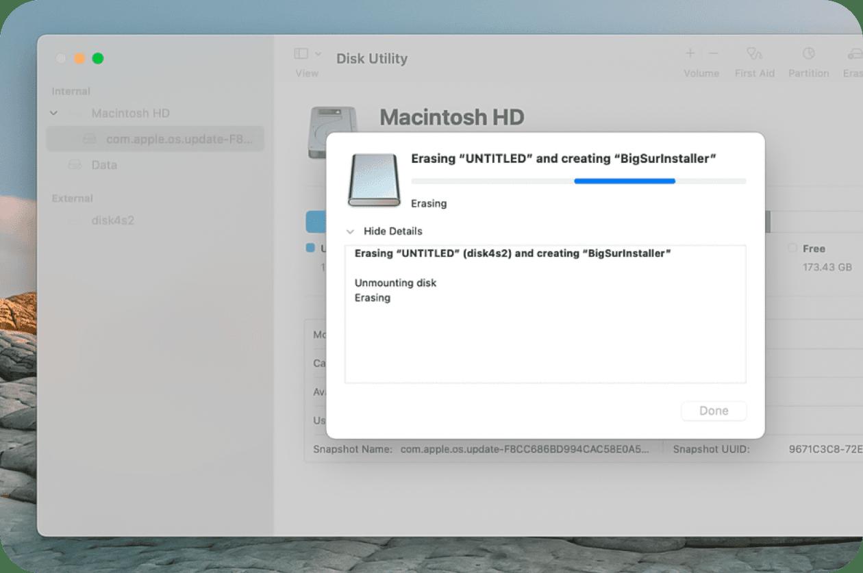 Creating a bootable installer
