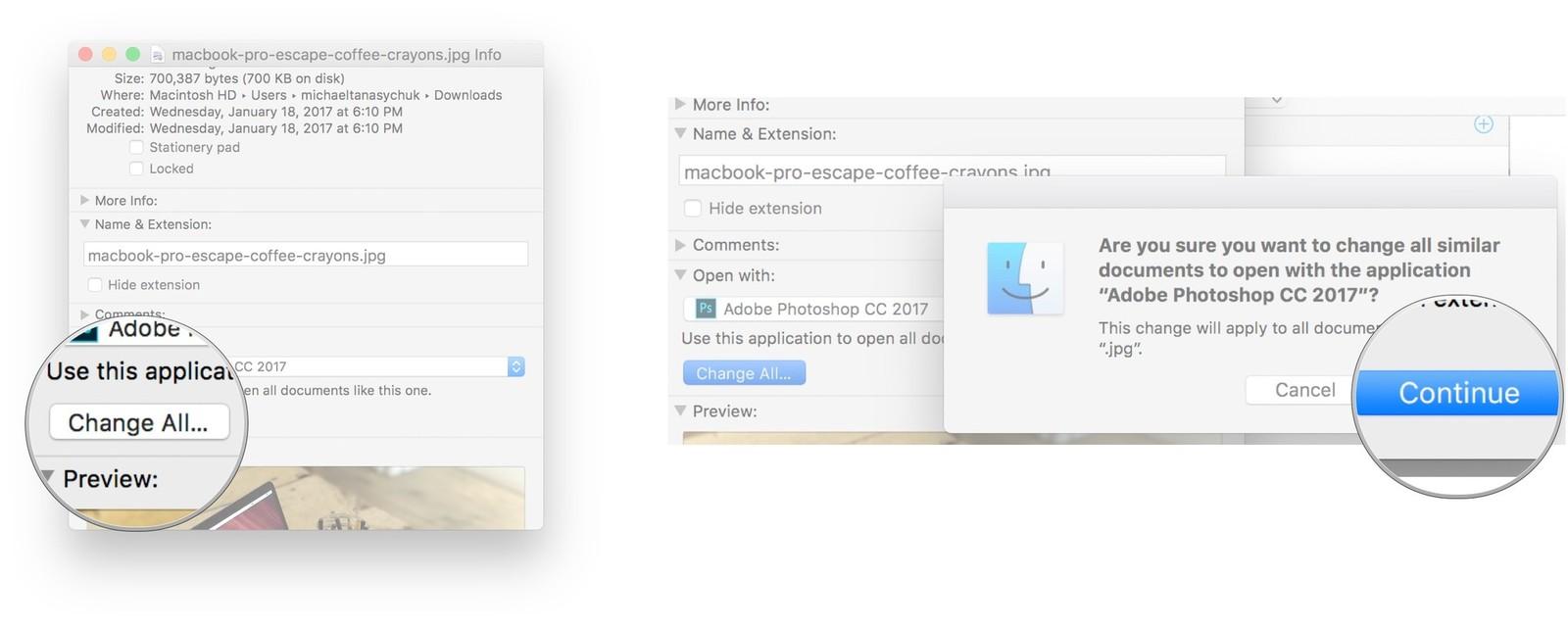 Change default Mac web browser