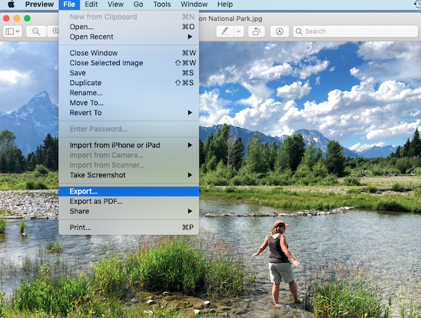 How to change HEIC to JPG on Mac