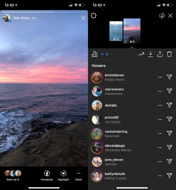 How the Instagram algorithm sorts your Story viewers