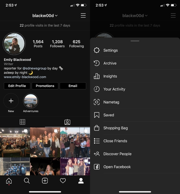 How to access the Close Friends feature from Instagram Settings