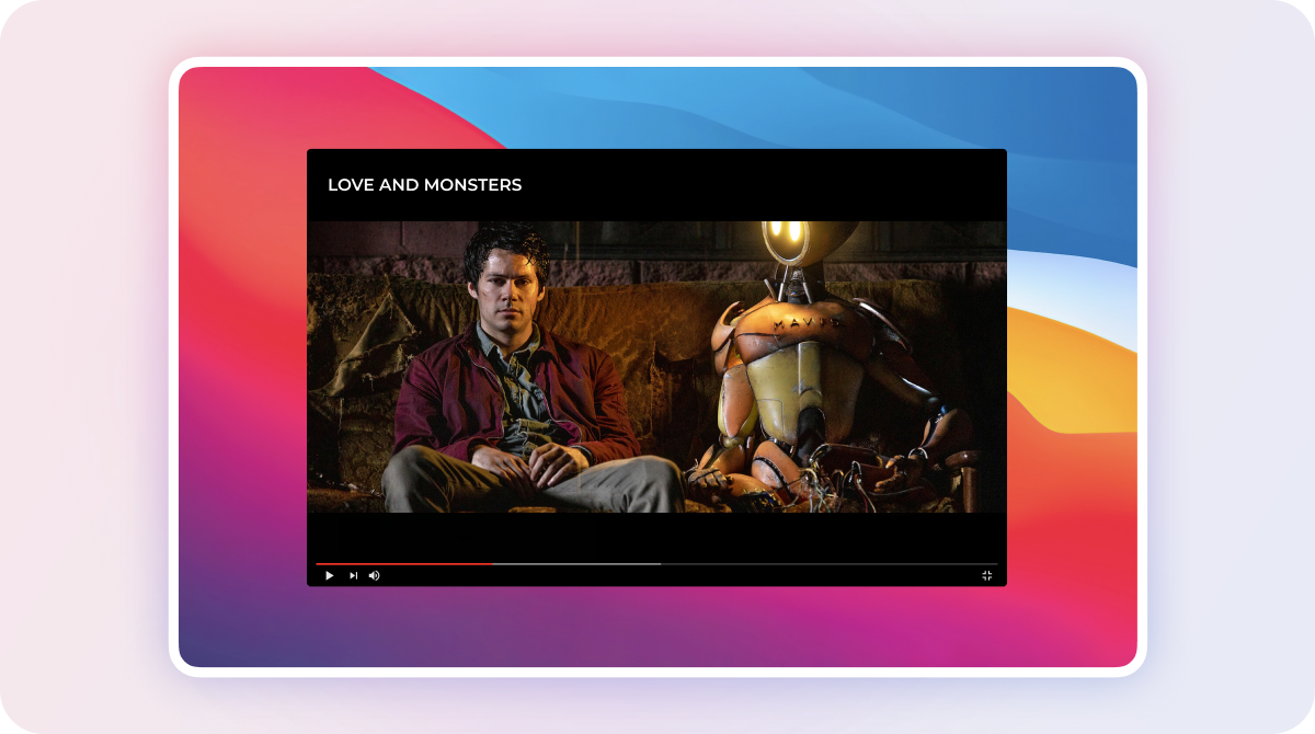 watch love and monsters with clearvpn