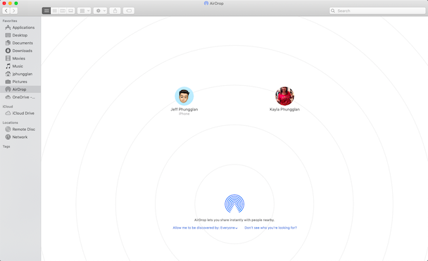 How to switch on AirDrop on Mac, so you can send photos from iPhone