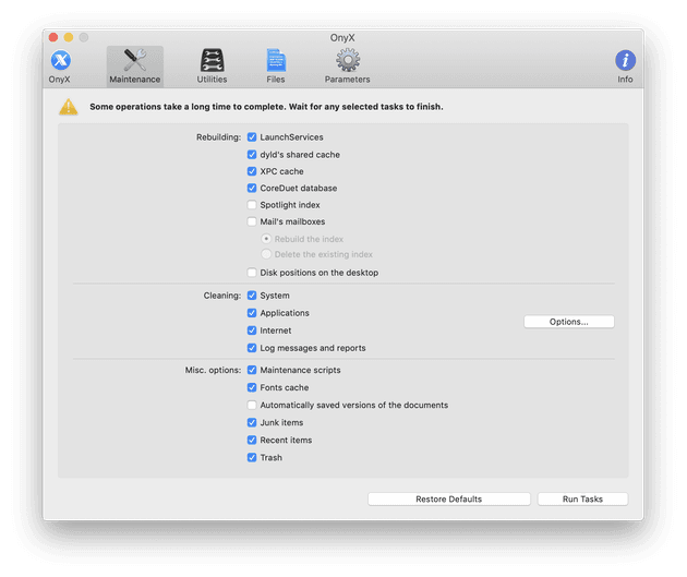 OnyX is more than just optimization software for your Mac