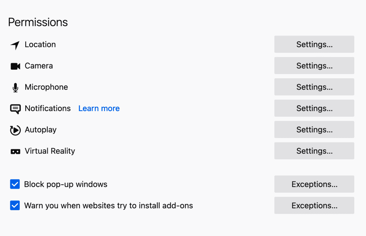 How to block pop-up windows in Firefox