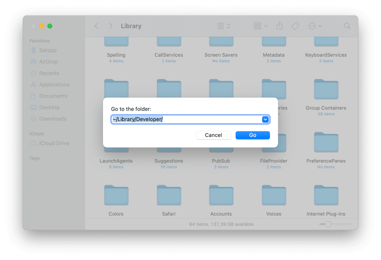 Remove remnants old Xcode