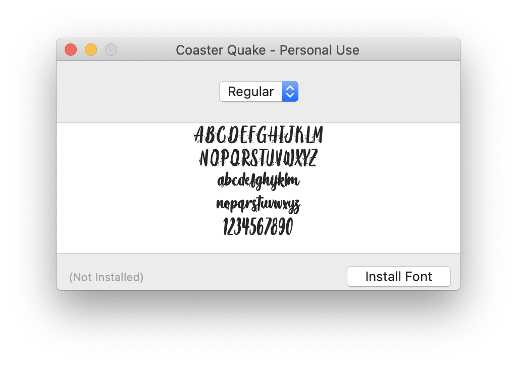 How to add fonts to Mac
