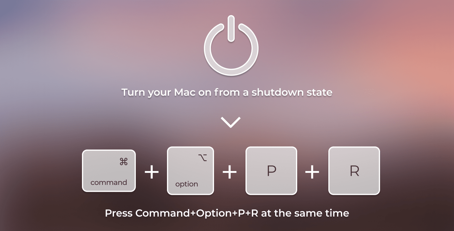 Resetting the PRAM to make Mac faster