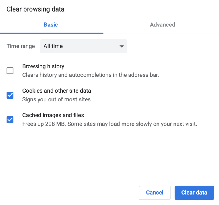 Chrome running slow on Mac