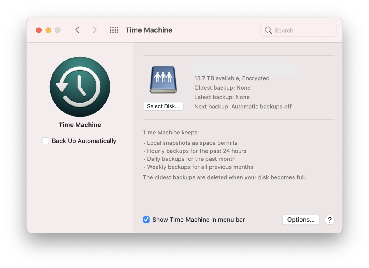 How to remove Time Machine backups