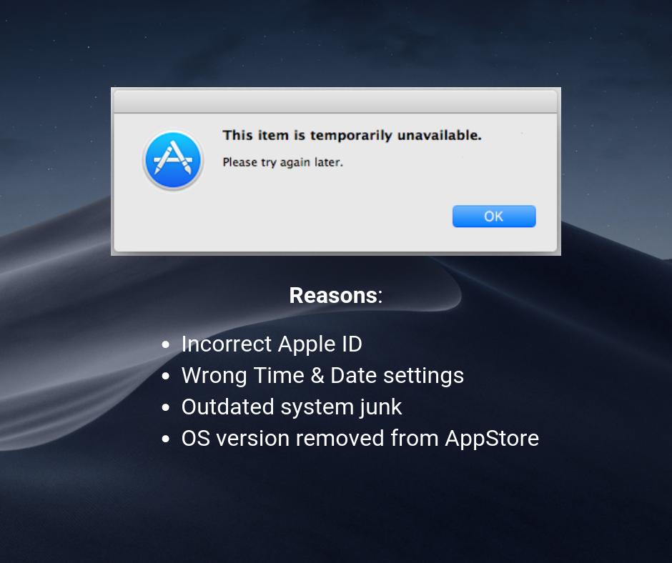 """كيفية إصلاح macOS """"هذا العنصر غير متاح مؤقتًا. يرجى المحاولة مرة أخرى لاحقًا """"خطأ 2"""