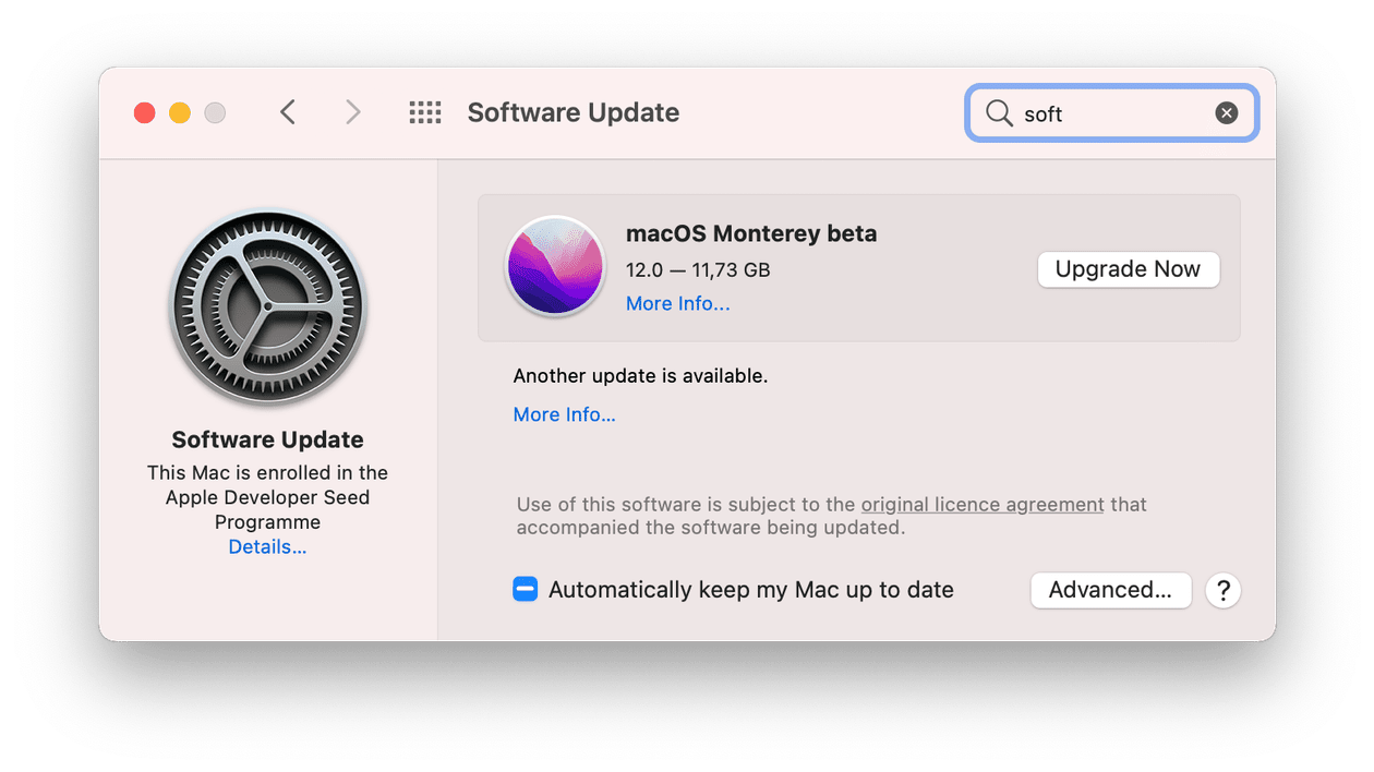 How to regularly install macOS Monterey