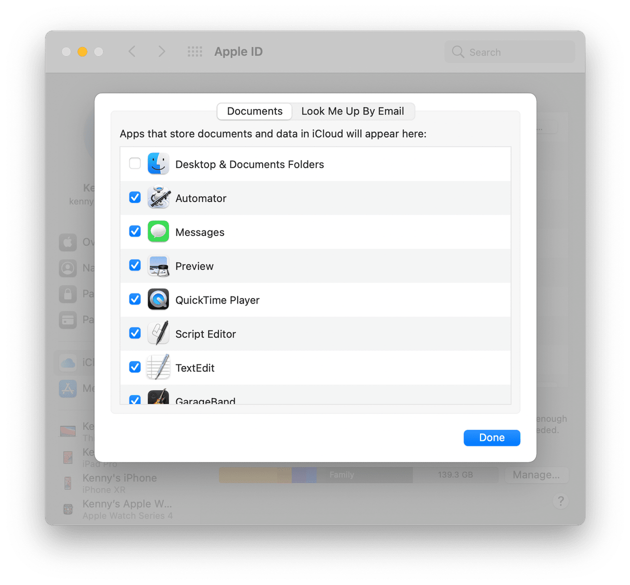 How to manage accesses on Mac
