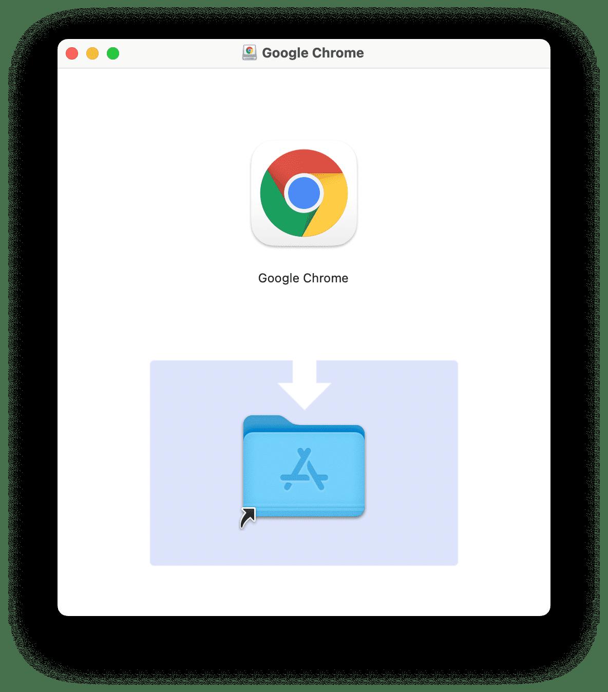 Chrome disk image