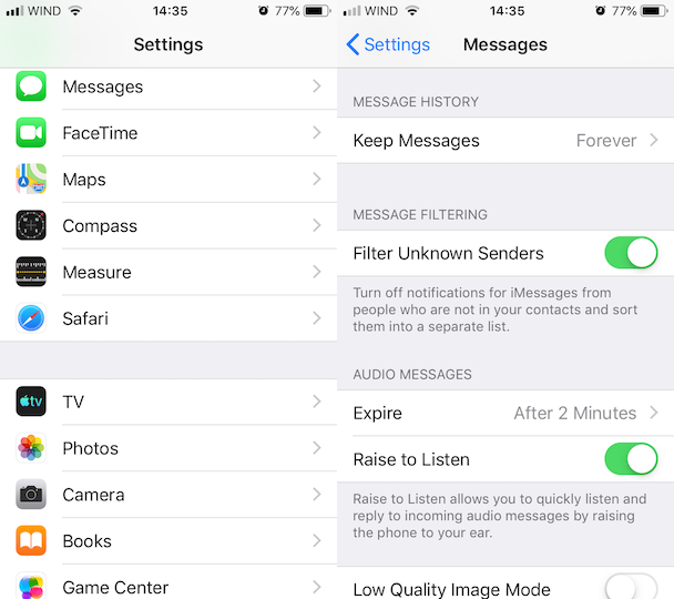 How to free up iPhone storage: Don't keep messages forever