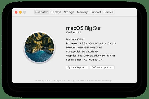 Cómo buscar actualizaciones en Mac