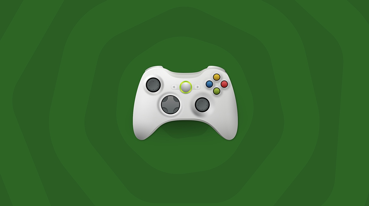 how to hook up wired xbox 360 controller to mac