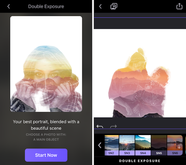 How to overlay pictures using Enlight