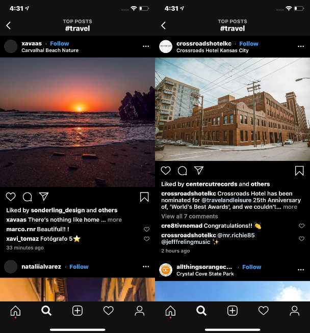 How to take better travel photos for Instagram: Keep them horizontal