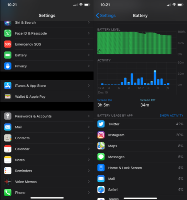 How to fix an overheating iPhone: Find which apps are using the most battery