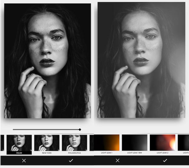 Carbon photos editing app