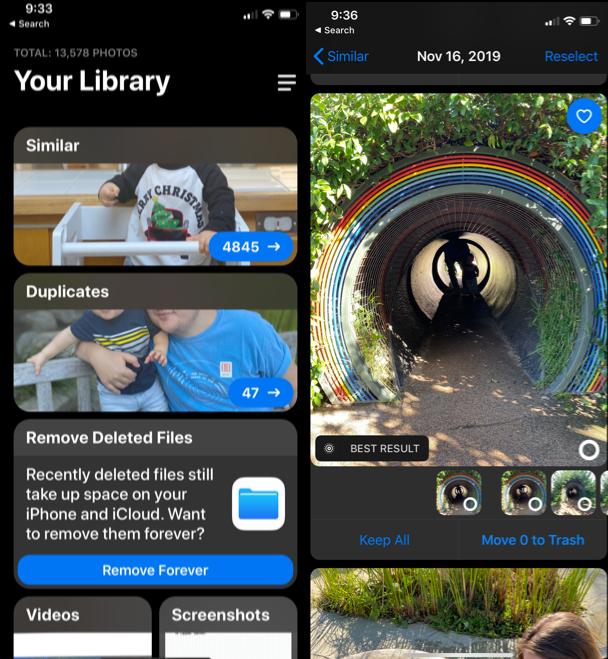 Gemini Photos, one of the top iOS apps to keep photos organized