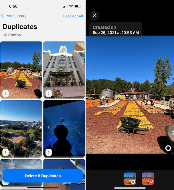 Before upgrading to iPhone 13, declutter your photo library with Gemini Photos