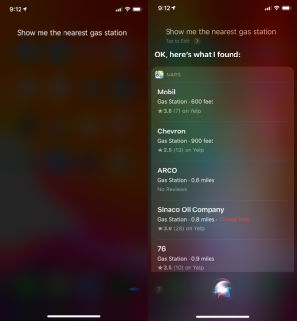 How to use Siri for navigation
