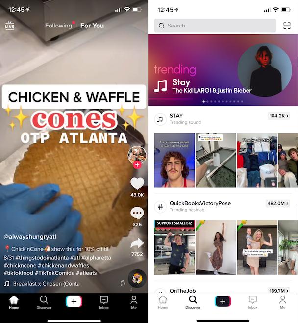 TikTok app The latest and greatest social media platform
