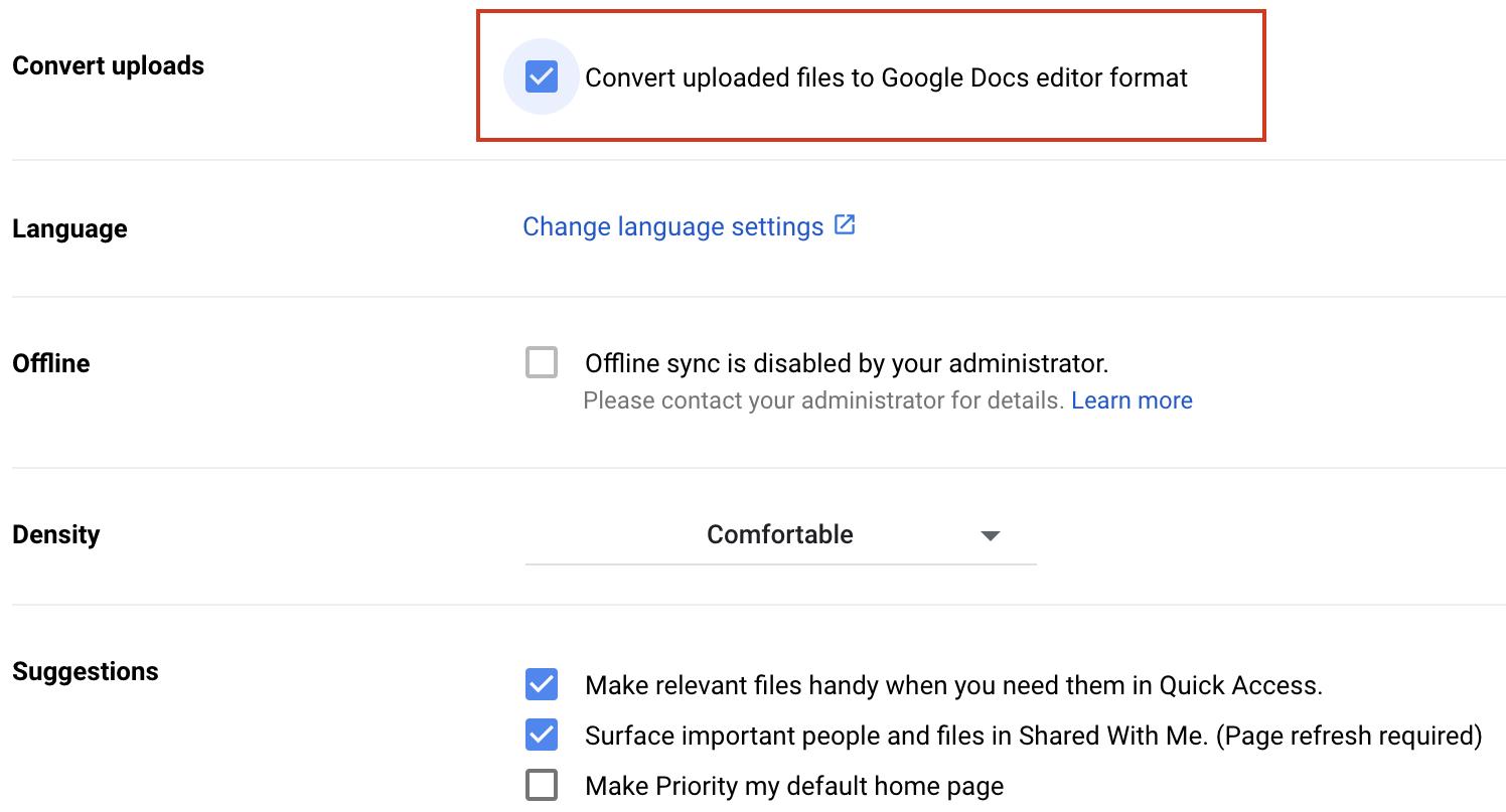 Turn PDF Files into DOCX