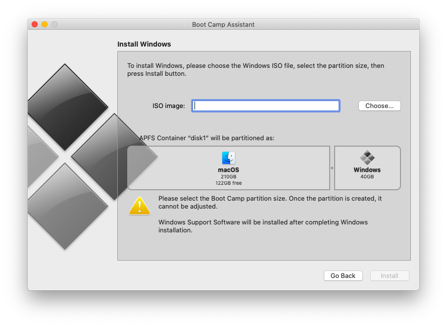 How to install Windows 10 on Mac part 2