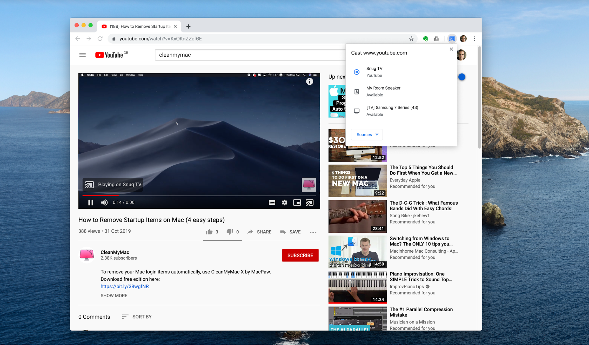 How to use Chromecast to cast Netflix and YouTube from your Mac