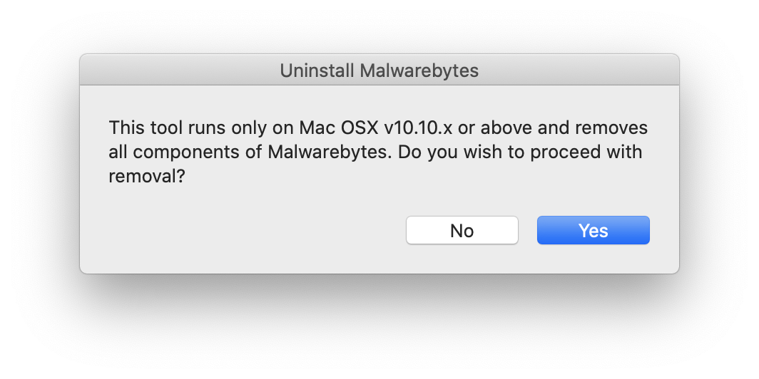 uninstall all Malwarebytes software