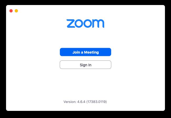 get Zoom invitation