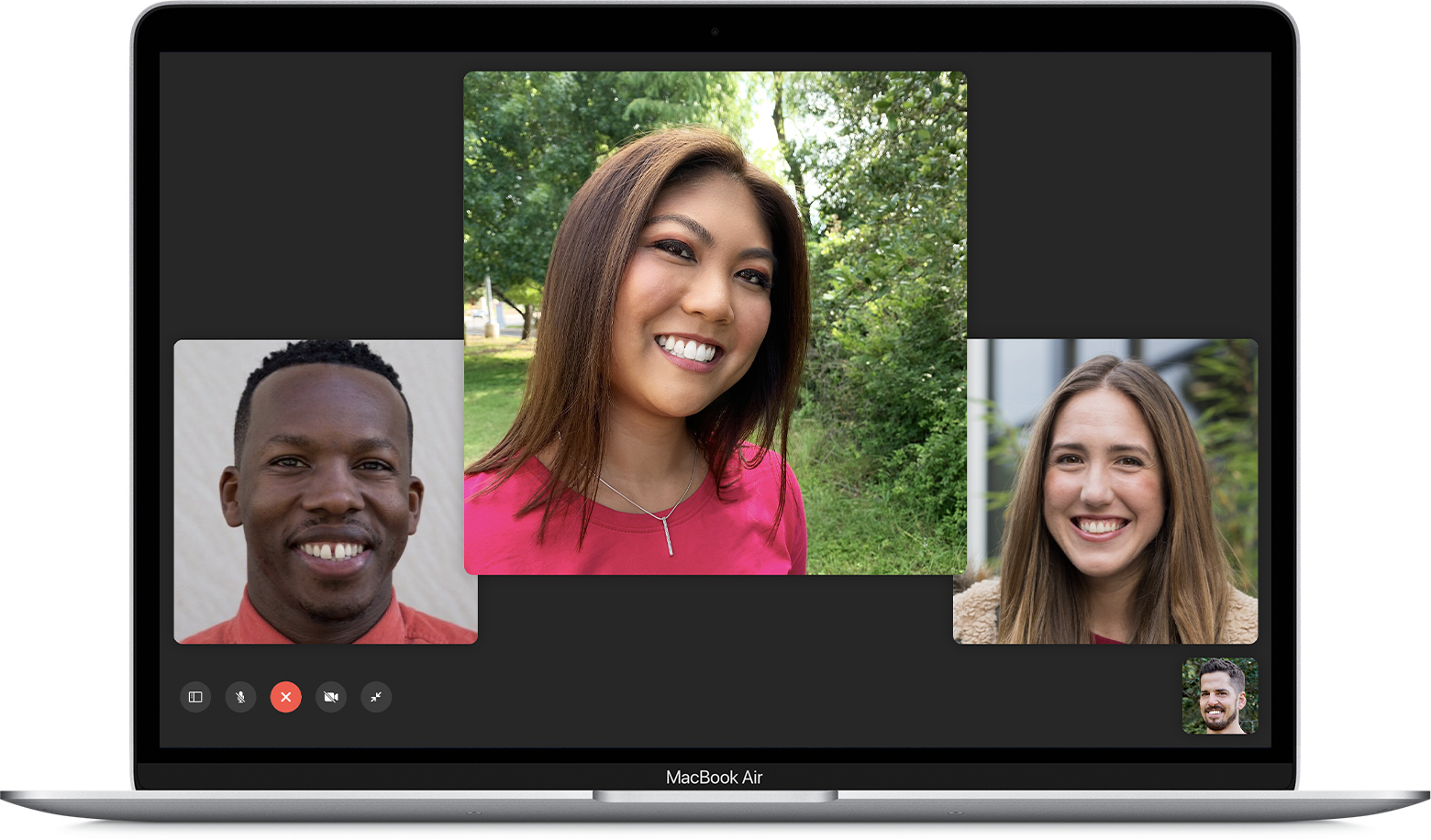do Group FaceTime on Mac