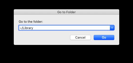 open a hidden folder