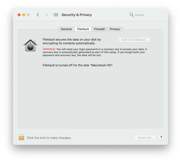 How to use FileVault