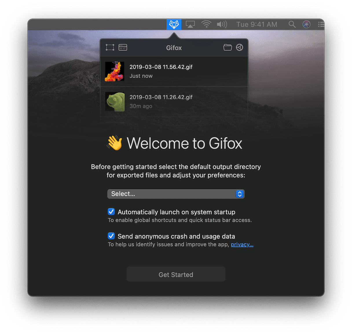 Gifox on Mac