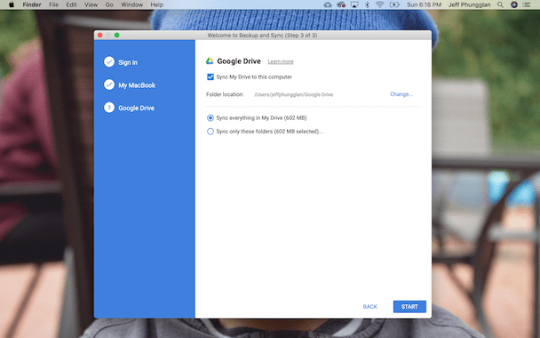 How to sync your Mac with Google Drive