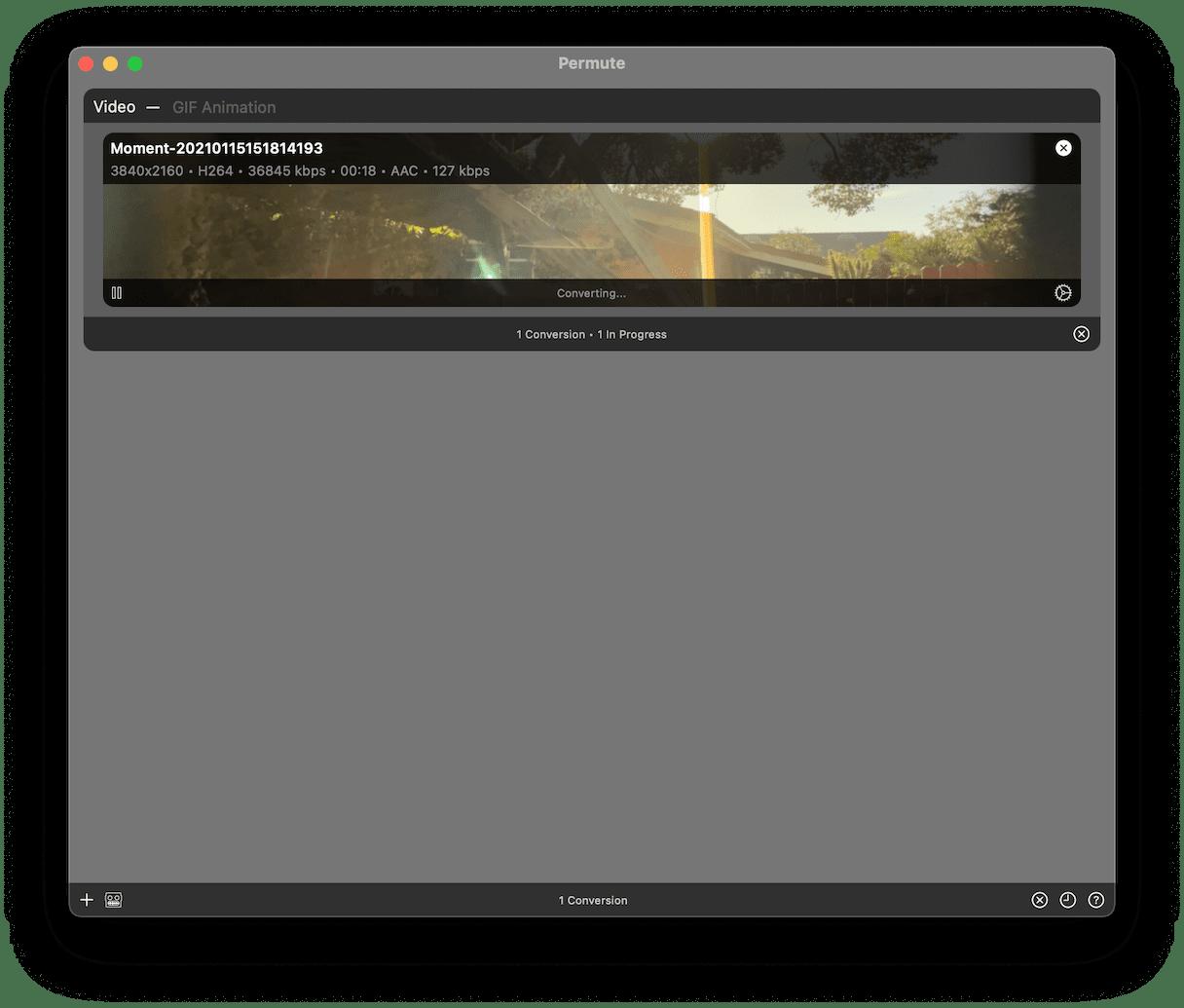 Permute interface