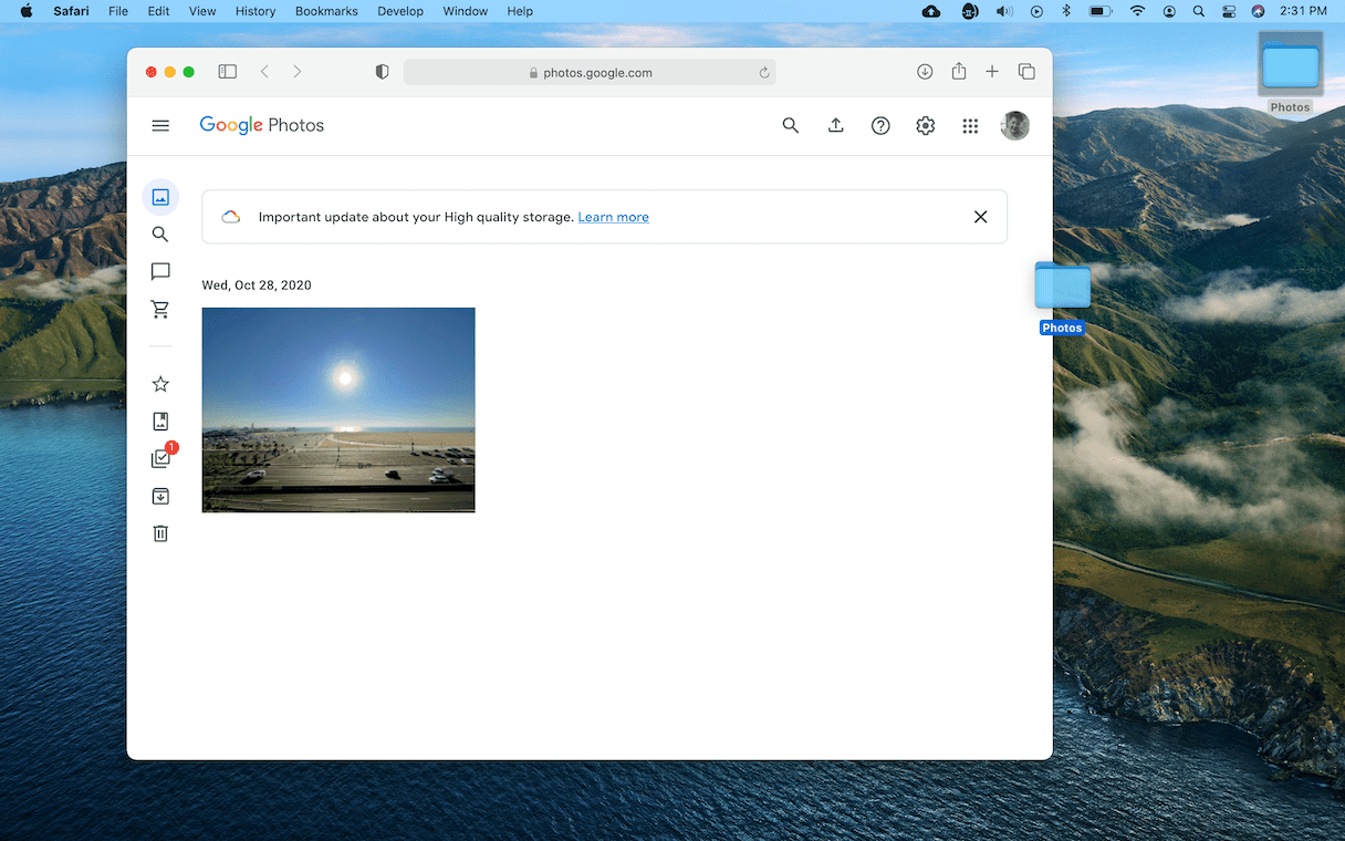 How to upload pics to Google Photos