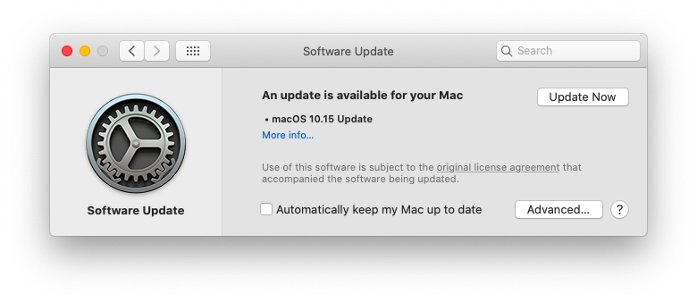 macos update mac operating system