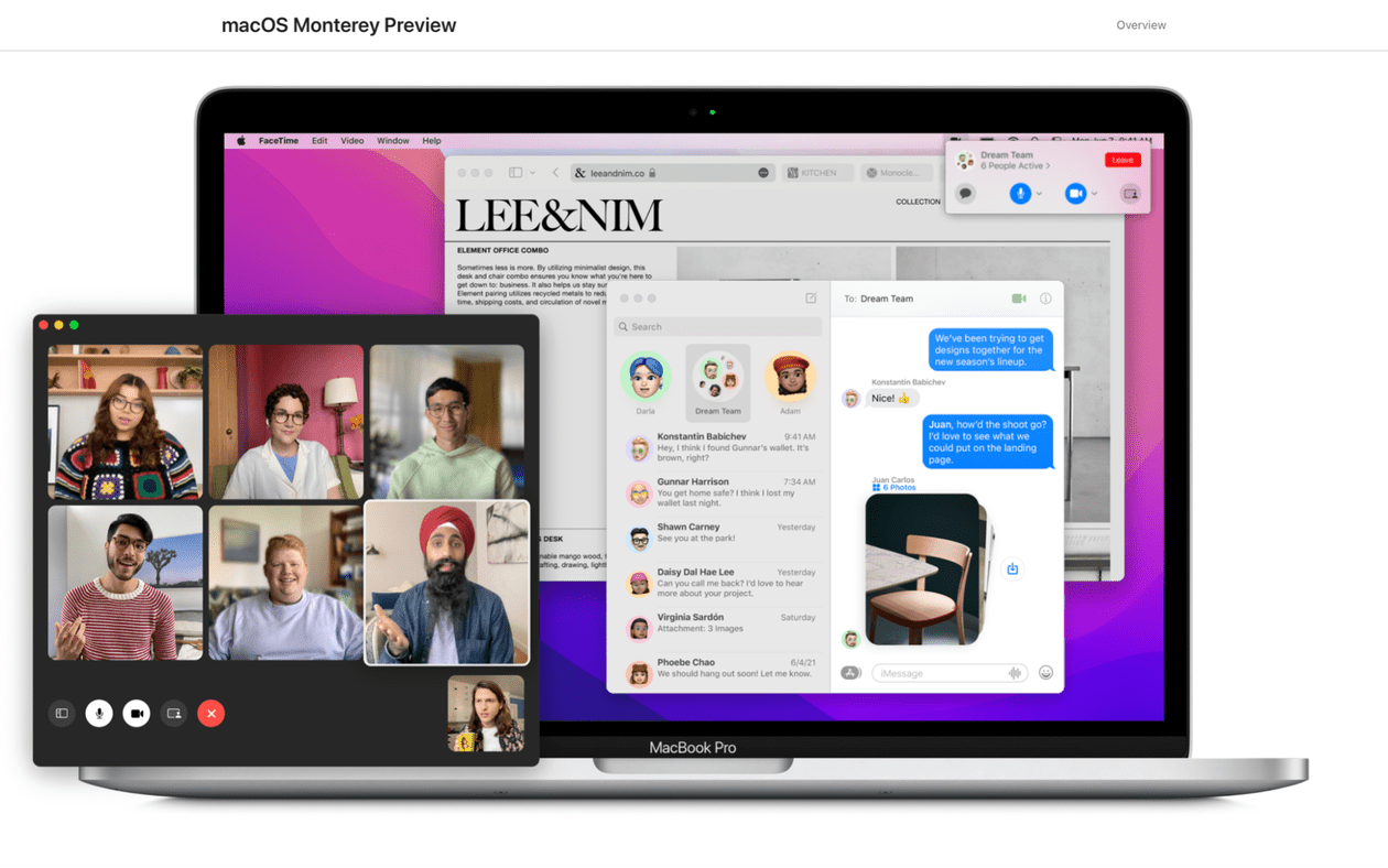 macOS Monterey preview